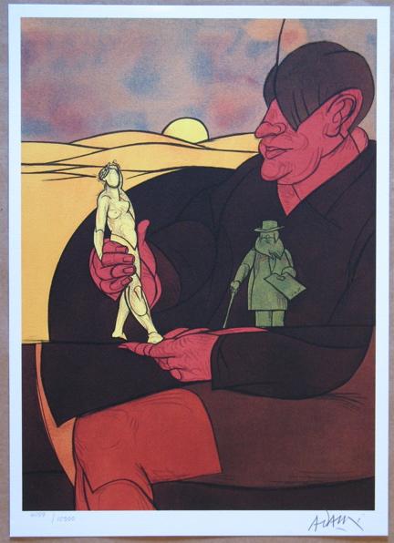 Valerio Adami ''Statuette''