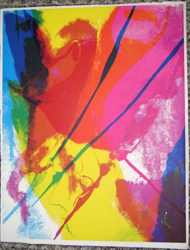 Paul Jenkins ''Untitled''