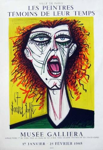 "Bernard Buffet ""Les Peintres, Musee Galliera"""