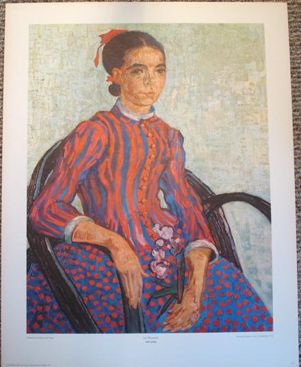 Vincent Van Gogh - ''La Mousme''
