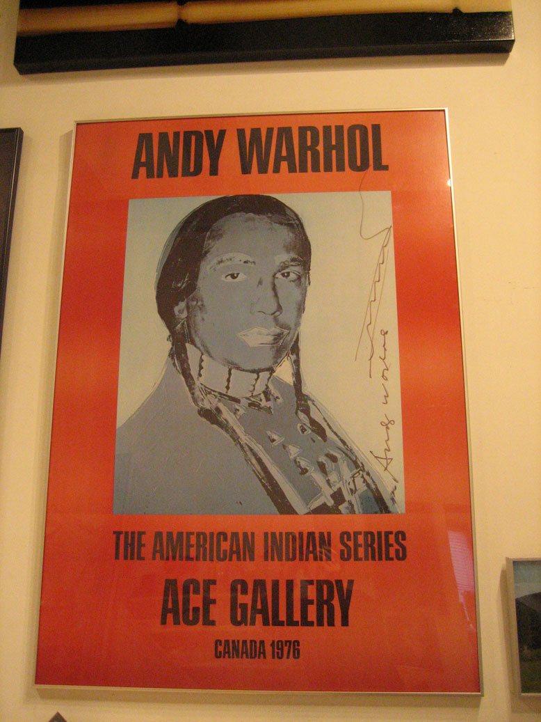 American Indian Series Exhibition Poster (II)