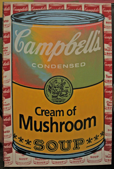 Soup Can - Cream of Mushroom