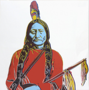 Andy Warhol, Sitting Bull