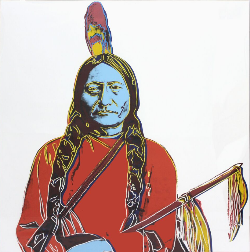 Andy Warhol, Stuart Bird and Native American Art