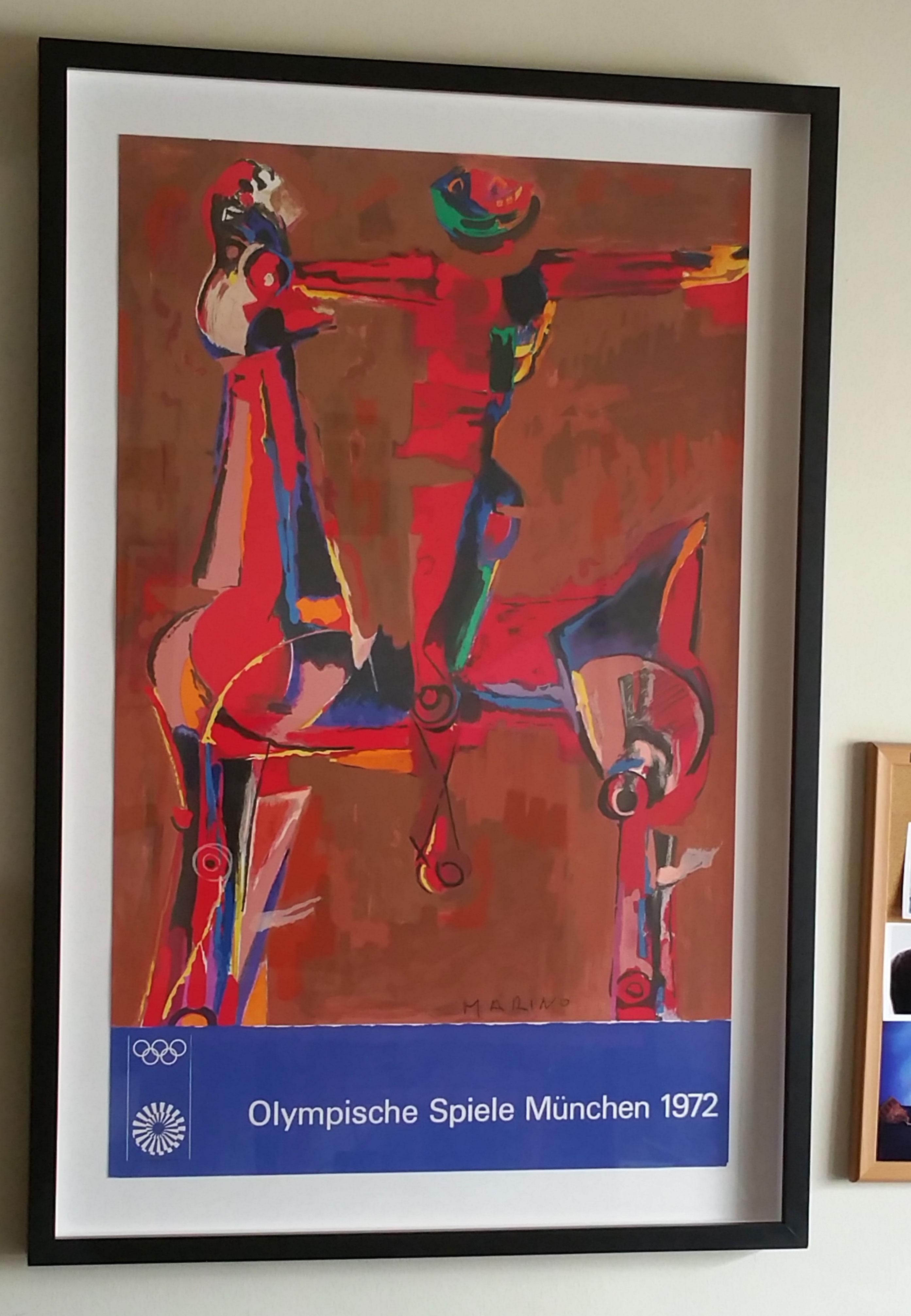 Marini, Marino - Olympic Poster 1972 -