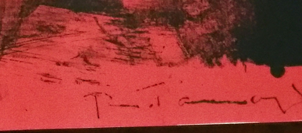 Affiche Avante Lettre 1969