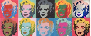 "Andy Warhol, ""Marilyn"" portfolio of 10 prints"