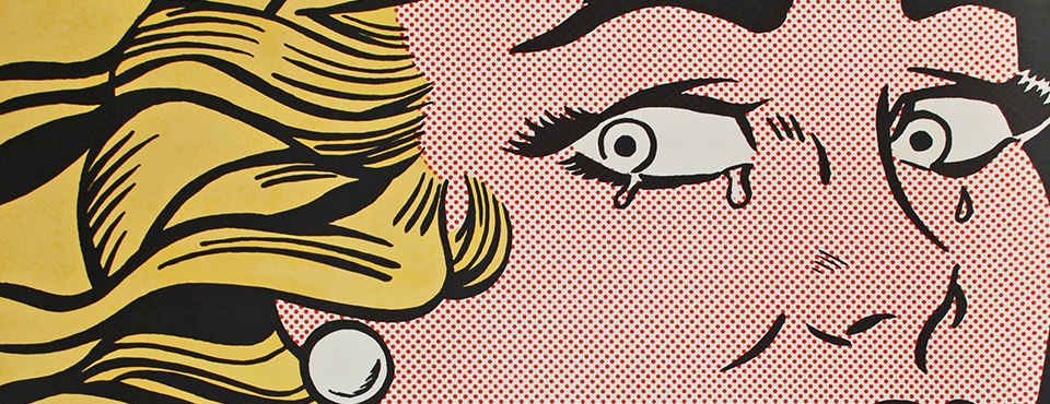 Roy Lichtenstein - Crying Girl