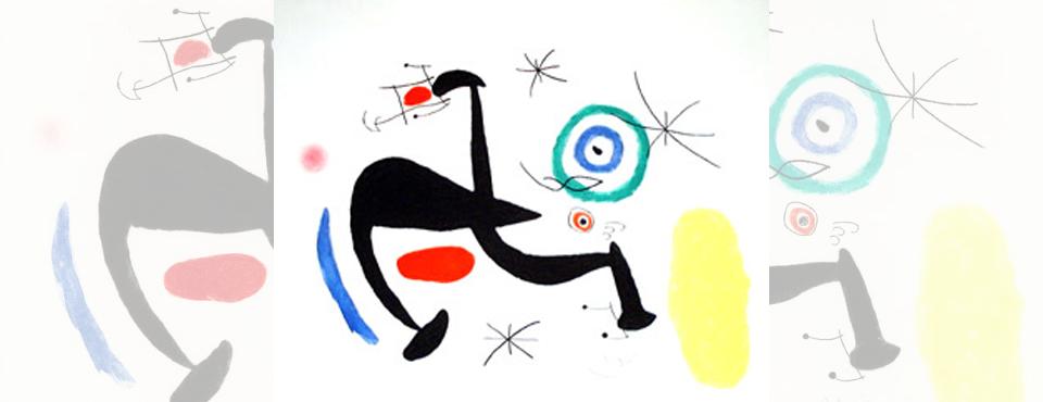 Joan Miro - La Biche Chantant la Tosca