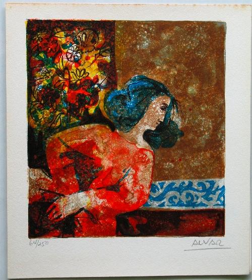 Sunol Alvar ''Seated Woman''