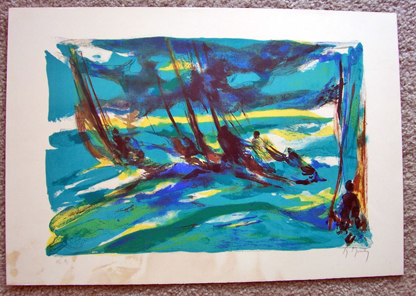 Marcel Mouly ''Stormy Sail''