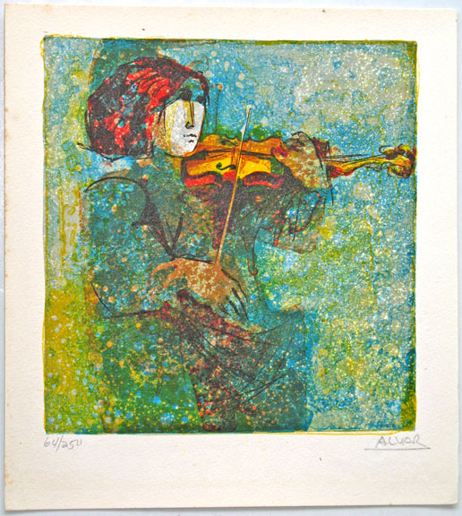 Sunol Alvar ''Violin''