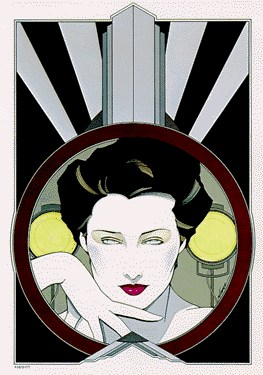 Patrick Nagel ITT Cannon Suite-