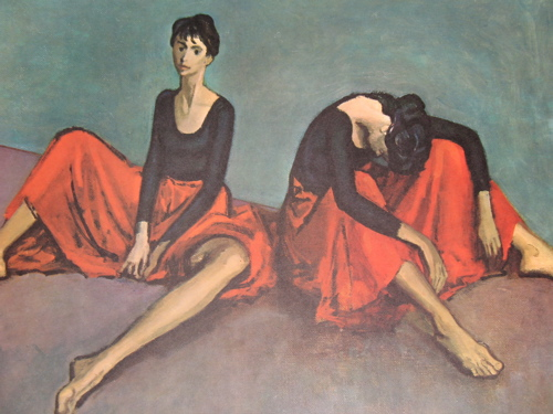 Moses Soyer - ''Dancers Reposed''