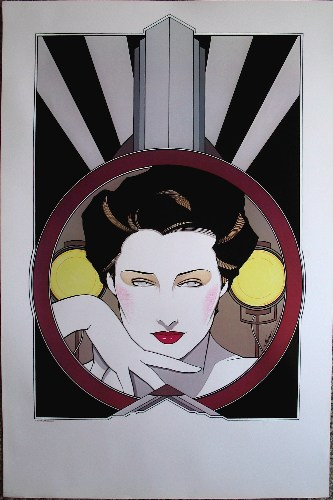Patrick Nagel - ''Hollywood''