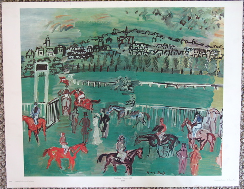 Raoul Dufy - ''Racetrack''