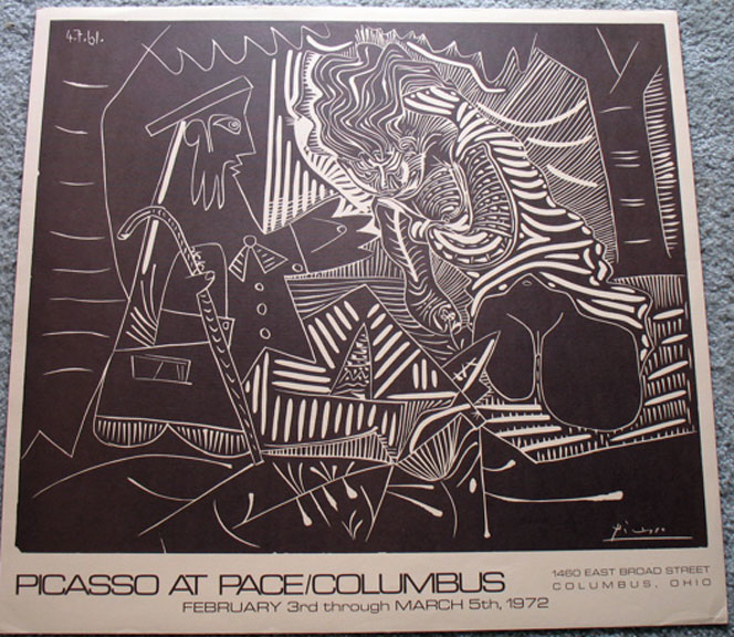 Pablo Picasso - Pace at Columbus