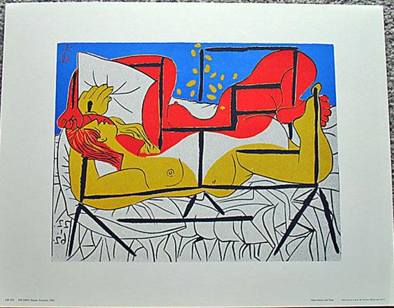 Pablo Picasso - ''Danae''