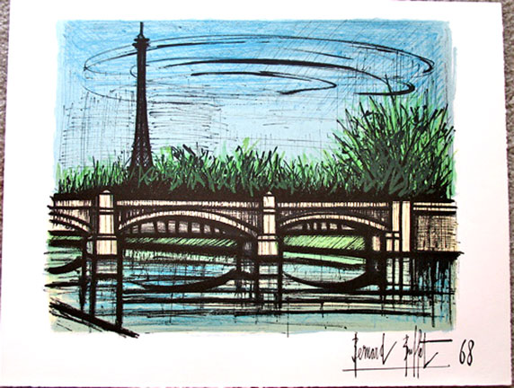 Bernard Buffet - ''Eiffel Tower''
