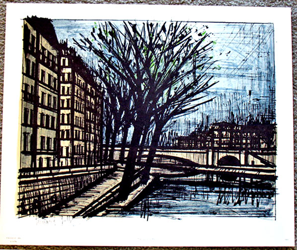 Bernard Buffet - ''The Quai D Anjou''