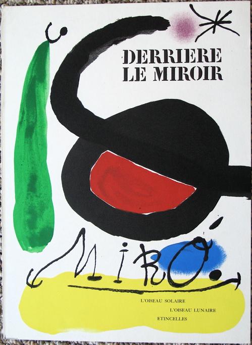 Joan Miro - Cover Derriere Le Miroir 164-165