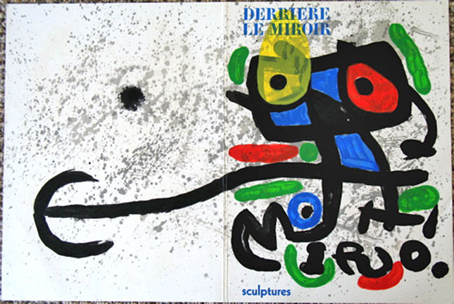 Joan Miro - Derriere Le Miroir 186