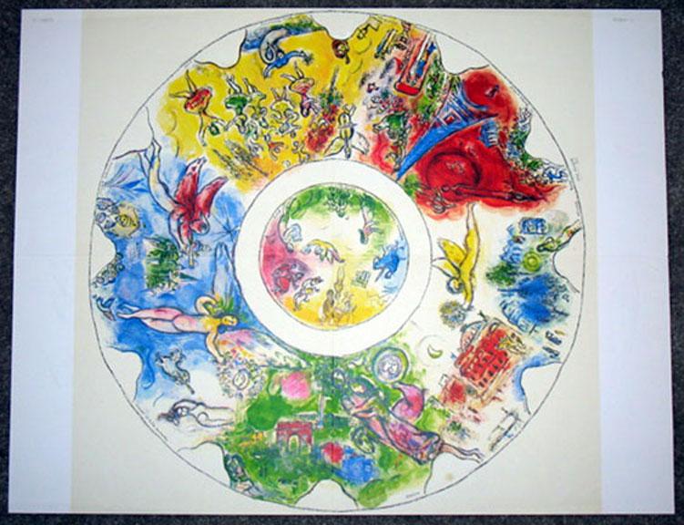 Marc Chagall - Paris Opera Ceiling DLM