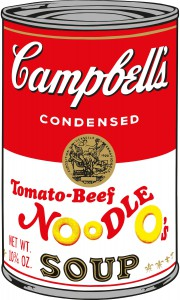 Andy Warhol Campbell's Soup Cans II