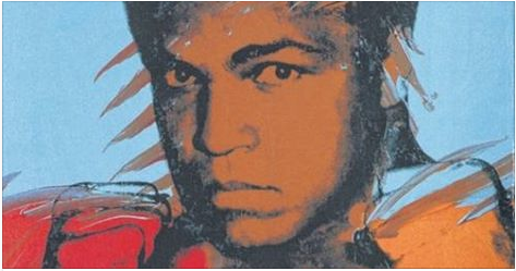 Andy Warhol, The Athletes' Series at Oklahoma City Museum
