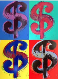 Dollar Portfolio - 4 prints