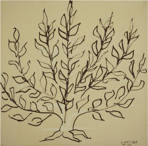"Henri Matisse, 1951, ""Bush"""